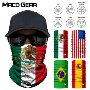 Mexico National Flags Seamless Motorcycle Balaclava Shield Face Mask Neck Gaiter Ebay