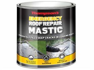 Ronseal Thompsons Emergency Roof Repair Mastic 750ml | Trowel On Sealant