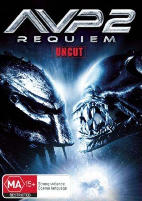 Alien vs. Predator 02 - Requiem (DVD, 2008) Uncut - Free Post!