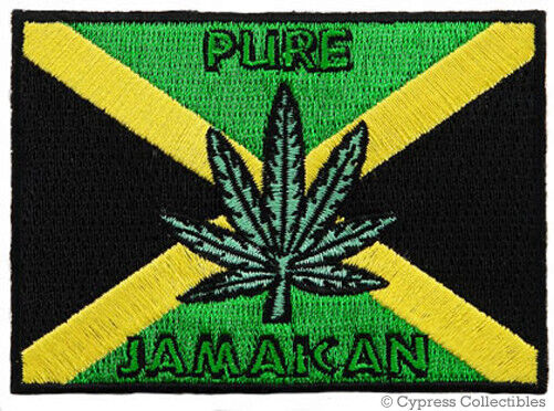 Jamaican Flag With Weed