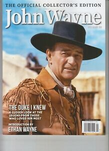 John Wayne Volume 38 Collector S Edition Magazine December 2020 Topix Media Ebay