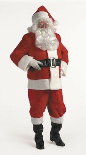 Halco 5599 Popular Rental Quality Santa Suit Size 64-70 jacket up to 63 waist