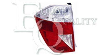 GP0767 EQUAL QUALITY Faro Fanale posteriore Dx HONDA FR-V BE 2.2 i CTDi 140 hp