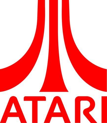 Wall Art fenêtre, Atari Retro Logo Vinyle Autocollant-Ordinateur portable