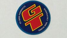 Old mid school NOS GT head badge bars coin decal bmx bike sticker products