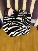 Pottery Barn Kids Zebra Treat Bag Adorable