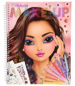 depesche 10728 colouring book topmodel create your make-up approx. 24 x 19.5 x 1 4010070420314