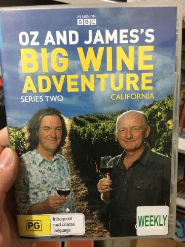 1 of 1 - Oz And James's Big Wine Adventure Series 2 ex-rental region 4 DVD (2 discs)