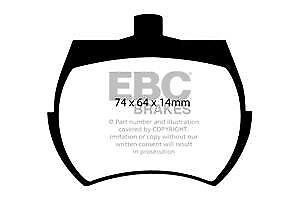 DP127 EBC Ultimax FRONT Brake Pads fit AUSTIN AUSTIN HEALEY INNOCENTI MARCOS MG