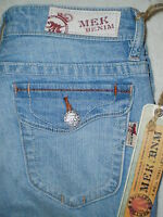 Mek Denim Barclay Slim Boot Stretch Womens Jeans Size 26 27 29 30 32 $135