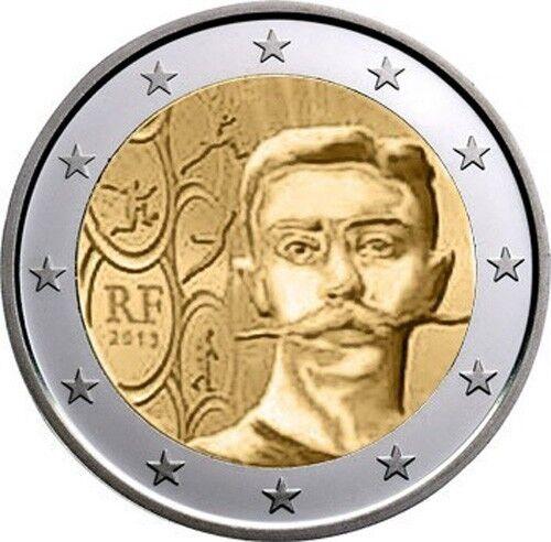 PIERRE DE COUBERTIN *** UNC *** FRANCE 2 EURO COIN 2013