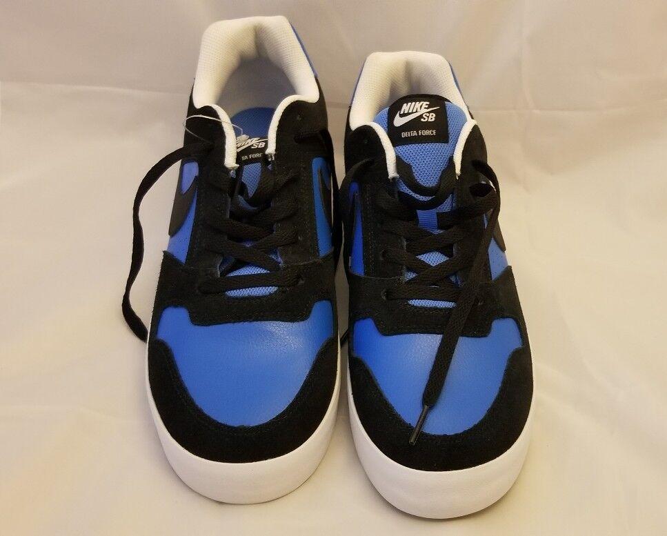 NEW Nike SB Delta Force Vulc Men's Size 11.5 US 942237-004 Blue & White no box