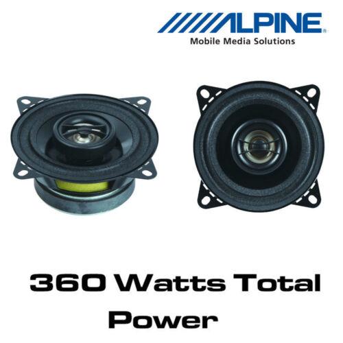 """Altavoces coaxiales de 4/"""" 10 cm 2 vías Jeep Wrangler 97-06 Alpine SXV-1025E"""