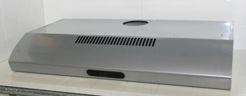 Wandhaube mit Kaminverkleidung von BEST 90cm Grau SP2001 Silbergrau