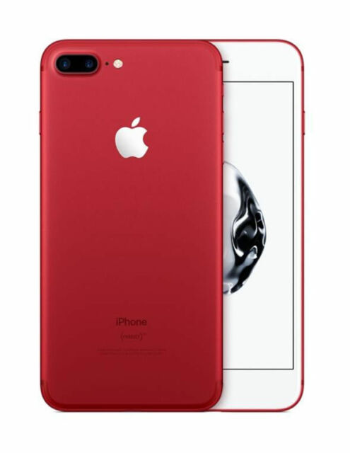 Apple Iphone 7 Plus Product Red 128gb Unlocked A1661 Cdma Gsm For Sale Online Ebay