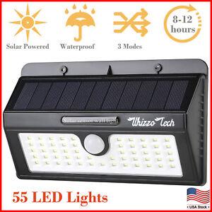 Outdoor-Solar-Lights-Motion-Sensor-Wall-Light-Waterproof-Garden-Yard-Lamp-55-LED