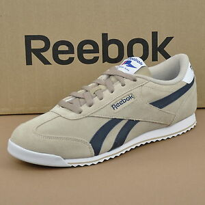 REEBOK ROYAL CL Rayen Baskets Hommes daim chaussures en cuir beige v67196 GQiz4hzgH3