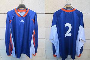 VINTAGE-Maillot-porte-n-2-MONTPELLIER-MHSC-ADIDAS-shirt-football-maglia-trikot