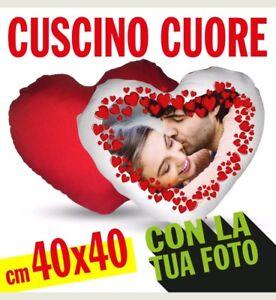 CUSCINO-CUORE-RETRO-ROSSO-cm-40X40-PERSONALIZZABILE-FOTO-TESTO-CON-IMBOTTITURA