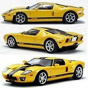 IWAVER-1-28-02M-FORD-GT-GIALLA-ON-ROAD-CAR-ELETTRICA-BRUSHED-2WD-RTR