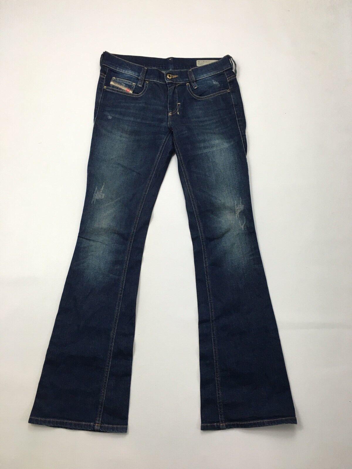 Women's Diesel 'LOWBOOT' Jeans - W26 L30 - Dark Navy - Great Condition