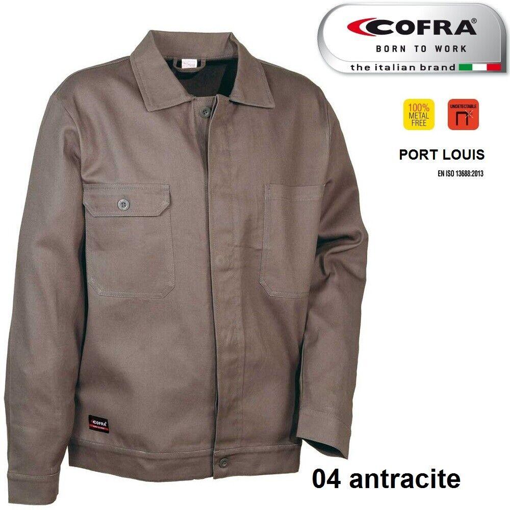 Immagine 5 - Giacca da lavoro COFRA modello PORT LOUIS 100% cotone 270 g/m² industria logist