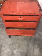 Vintage Plomb Chest Style Tool Box