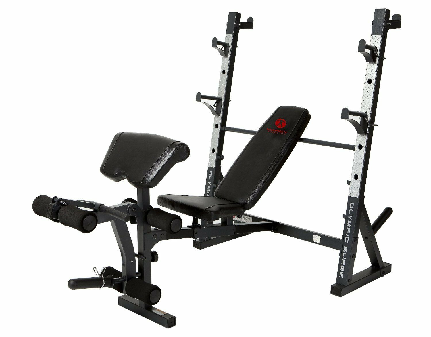New Complete Olympic Größe Workout Bench Home Gym Fitness weißht Lifting Press 2