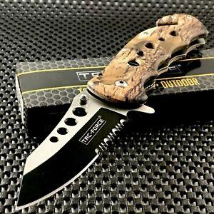 "7.75"" TAC FORCE ASSISTED OPEN TACTICAL OUTDOOR FOLDING POCKET KNIFE SPRING"