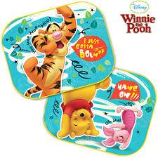 Two Disney Winnie Pooh  Blinds Car Window Sun Shades Mesh Kids Baby Children New
