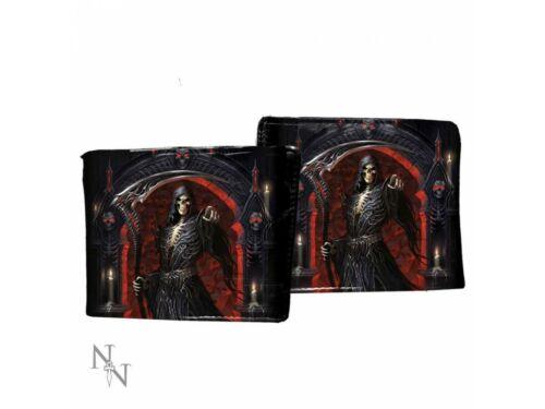 Mens Wallet Skull Gothic Reaper Biker by James Ryman Nemesis Coin Punk Rock Gift