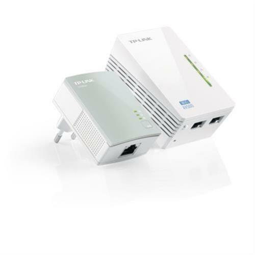1 von 1 - TP-LINK TL-WPA4220KIT 500Mbps WLAN Powerline Adapter Repeater refurbished