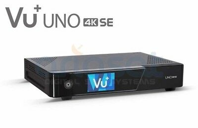 Vu + Uno 4k Se 1x Dvb-s2 Fbc Twin Tuner Pvr Ready Linux Ricevitore Uhd 2160p-
