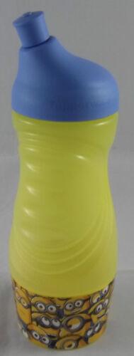 Tupperware C 93 Petit Sport ami sous-fifres Bouteille Jaune Bleu 415 Ml Neuf neuf dans sa boîte