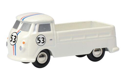 Schuco 05628 Schuco Piccolo Volkswagen // Vw T1 Pritsche Neu #53 Weiss