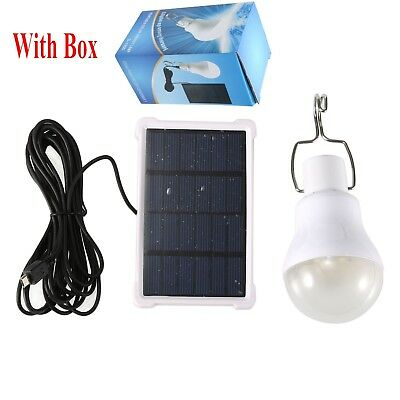 Home Bulb Outdoor Indoor Solar Ed Led Lighting System Light 709327073277 Ebay