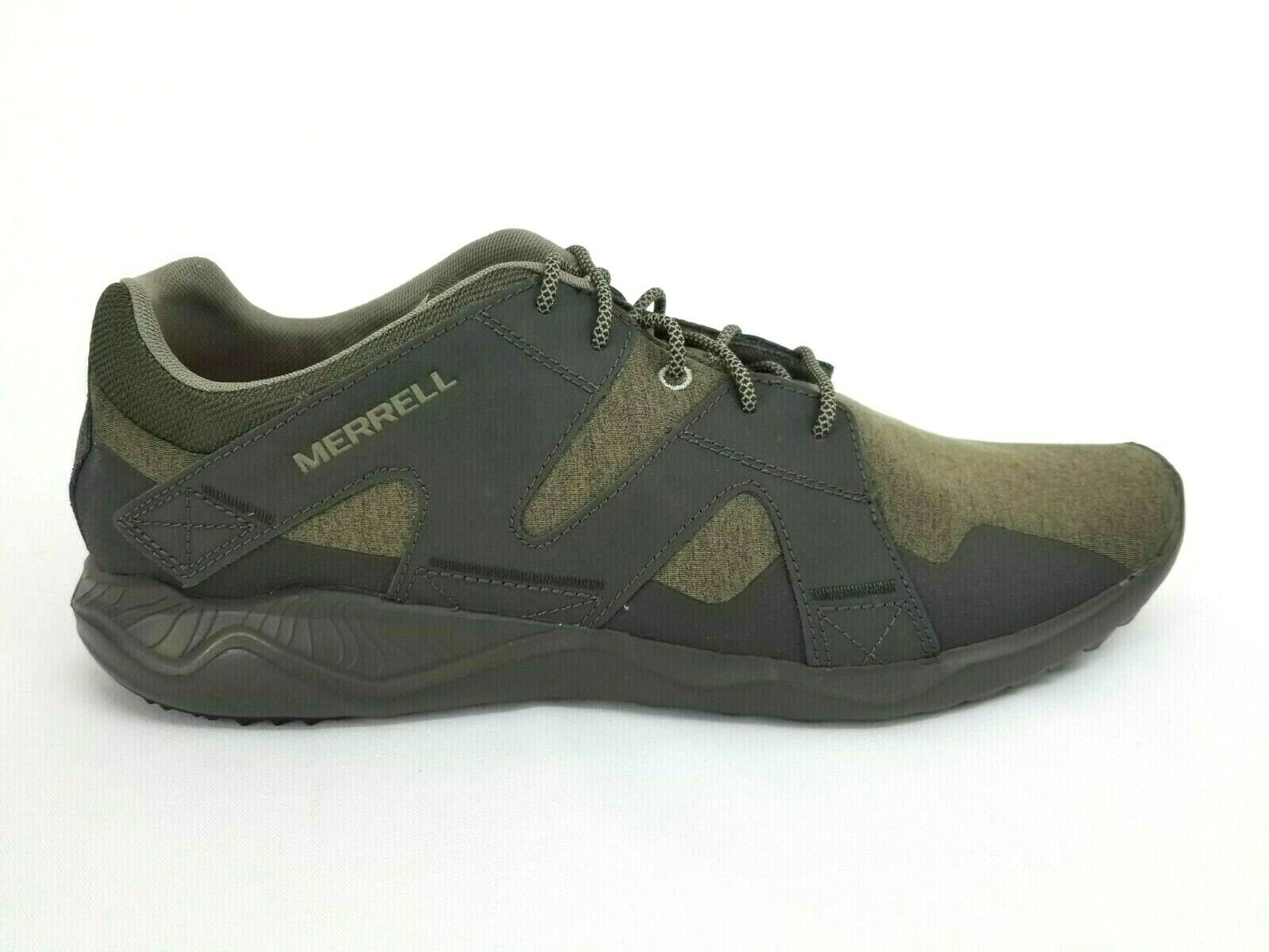 NWOB Merrell J07049 1SIX8 Lace Olive Athletic Sneaker shoes Men Size 15 US