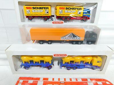 Nip 5 #3x Wiking 1:87/h0 Truck Man 548 01 29+471 50+575 01 Bx299-0