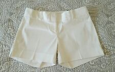THE LIMITED Womens Sz 4 Tailored Shorts White $44.95 - NWT