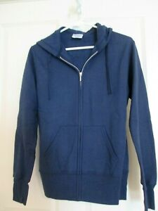 Port-amp-Company-Classic-Hoodie-Blue-Size-S-CH-P-NWT
