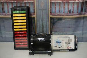 Sizzix-Stampin-Up-Big-Shot-Machine-Bundle-w-15-Dies-in-Storage-Turnstyle-Craft