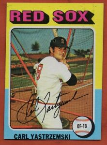 1975-Topps-Mini-280-Carl-Yastrzemski-EX-EXMINT-Boston-Red-Sox-FREE-SHIPPING
