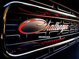 Dodge Challenger 70/'s 392 T//A R//T Plus Scat Pack Shaker Emblem Decal 2018 2019