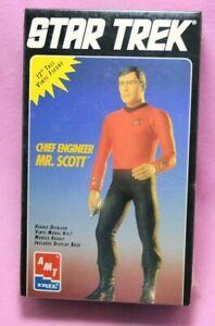 TOS-Star-Trek-SEALED-1994-ERTL-SCOTTY-Vinyl-Figure-Chief-Engineer-Mr-Scott
