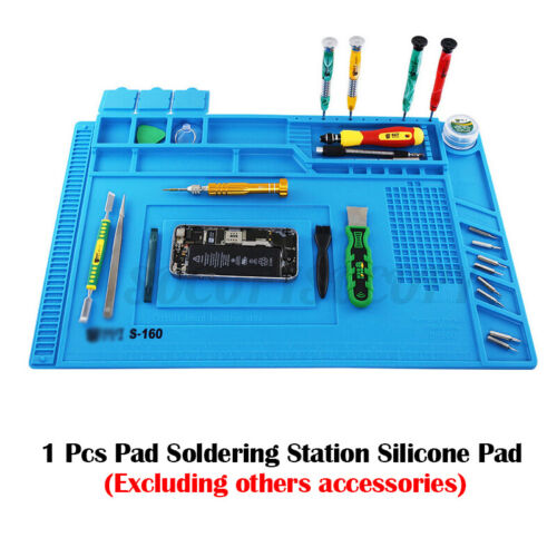 17.7*11.8 in Magnetic Heat Insulation Silicone Pad Mat Platform Soldering  x