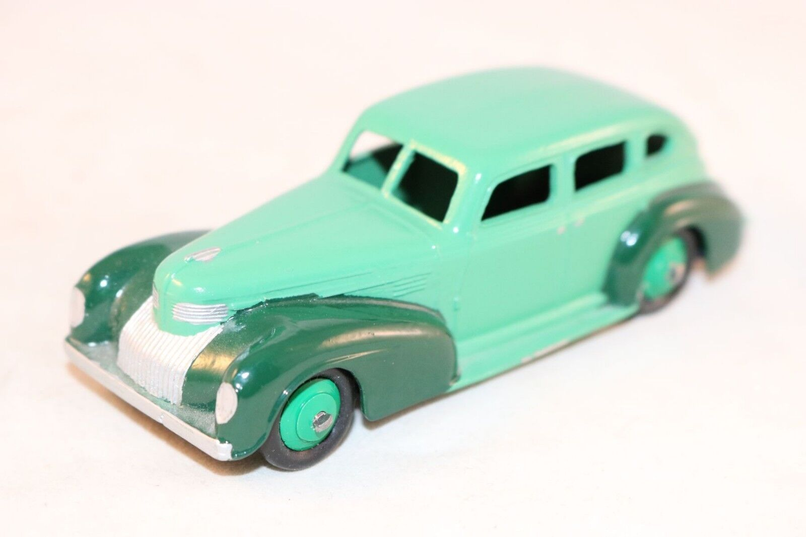 Schäbiges spielzeug 39 chrysler royal limousine vollkommen perfekt restauriert stufe grün