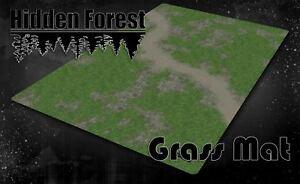 HiddenForest Grassy Terrain Mat (Mouse Pad Material)