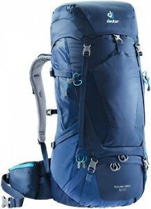 best service new list sleek Details about Backpack Trekking Mountain-Climbing Deuter Futura Vario 50+10  Midnight Steel