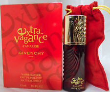 EXTRAVAGANCE D'AMARIGE GIVENCHY 1/2 OZ EDT SPRAY WOMAN VERY RARE OLD VINTAGE