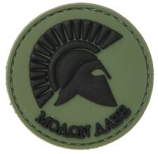 AC-110A: Lancer Tactical MOLON LABE Sparta PVC PATCH (GREEN) no tracking number